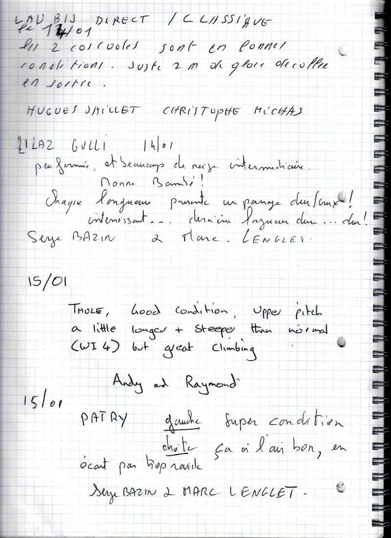 icebook 15/01/16 at 07h30 -6,7° C