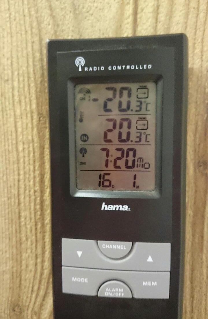 16/01 -20,3° C